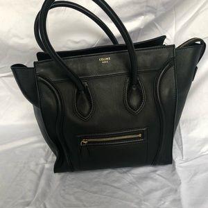 968b416d813d Celine Bags - Celine Mini Black Luggage Tote